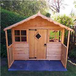 INSTALLED 6 x 5 (1.78m x 1.19m)  Playhouse INSTALLATION INCLUDED