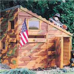 INSTALLED 6 x 4 (1.79m x 1.19m) Command Post Playhouse INSTALLATION INCLUDED