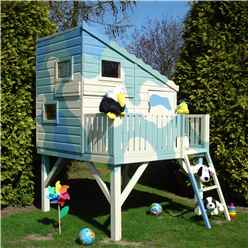 INSTALLED 6 x 6 (1.79m x 1.79m) Command Post Tower Playhouse INSTALLATION INCLUDED