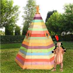 INSTALLED 7 x 6 Wigwam Playhouse