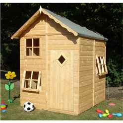 INSTALLED 5 x 5 Playhouse INSTALLATION INCLUDED