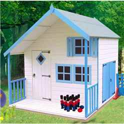 INSTALLED 7 x 6 (1.79m x 2.09m) - Crib Playhouse (Tongue And Groove)