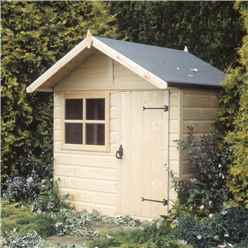 5 x 4 (1.48m x 1.42m) - Wooden Club Playhouse