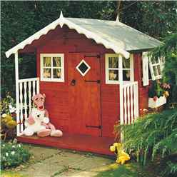 6 x 6 (1.79m x 1.79m) - Wooden Den Playhouse