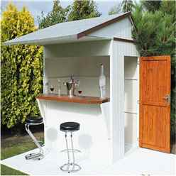 6 x 4 (1.79m x 1.19m) - Premier Garden Bar And Store  - 12mm Walls - Roof - Floor