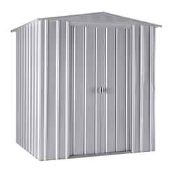 6 x 5 Apex Aluminium White Metal Shed (1.71m x 1.44m)