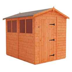 8 x 6 Tongue and Groove Shed (12mm Tongue and Groove Floor and Apex Roof)