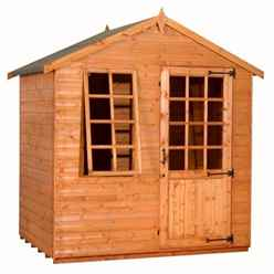 5 x 7 Georgian Style Summerhouse (12mm Tongue and Groove Floor and Apex Roof)