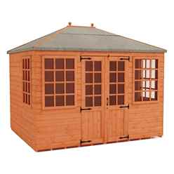 10 x 8 Pavilion Summerhouse (12mm Tongue and Groove Floor and Roof)