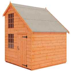 4 x 8 Mansion Playhouse (12mm Tongue and Groove Floor and Roof)