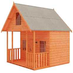 8 x 8 Club Playhouse (12mm Tongue and Groove Floor and Roof)