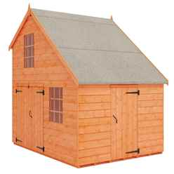 6 x 8 Garage Playhouse (12mm Tongue and Groove Floor and Roof)