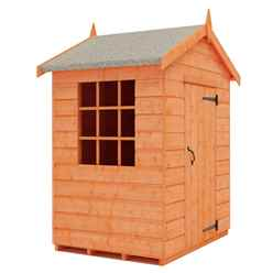 3 x 4 Mini Den Playhouse (12mm Tongue and Groove Floor and Roof)