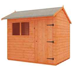 7 x 5 Reverse Tongue and Groove Shed (12mm Tongue and Groove Floor and Reverse Apex Roof)