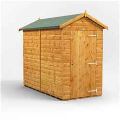 8 X 4 Premium Tongue And Groove Apex Shed - Single Door - Windowless - 12mm Tongue And Groove Floor And Roof