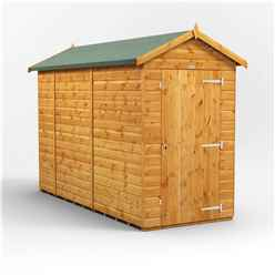 10 x 4 Premium Tongue and Groove Apex Shed - Single Door - Windowless - 12mm Tongue and Groove Floor and Roof