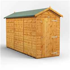 12 X 4 Premium Tongue And Groove Apex Shed - Single Door - Windowless - 12mm Tongue And Groove Floor And Roof