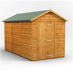 12 X 6 Premium Tongue And Groove Apex Shed - Single Door - Windowless - 12mm Tongue And Groove Floor And Roof