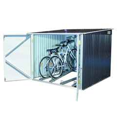 6 x 6 Value Bike Store Anthracite Grey (2.03m x 2.02m)