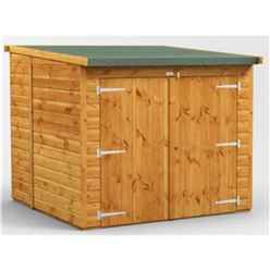 6 X 6 Premium Tongue And Groove Reverse Pent Bike Shed - 12mm Tongue And Groove Floor And Roof