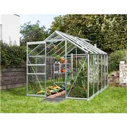 6 x 12 Premier Low Threshold Aluminium Frame Greenhouse