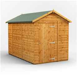 10 X 8 Premium Tongue And Groove Apex Shed - Single Door - Windowless - 12mm Tongue And Groove Floor And Roof