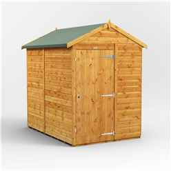 7 x 5 Premium Tongue And Groove Apex Shed - Single Door - Windowless - 12mm Tongue And Groove Floor And Roof