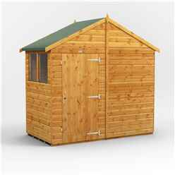 4 x 8 Premium Tongue and Groove Apex Shed - Single Door - 4 Windows - 12mm Tongue and Groove Floor and Roof