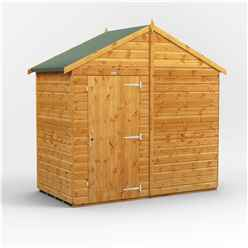 4 x 8  Premium Tongue and Groove Apex Shed - Single Door - Windowless - 12mm Tongue and Groove Floor and Roof