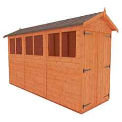 12 X 4 Tongue And Groove Shed With Double Doors(12mm Tongue And Groove Floor And Apex Roof)