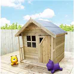 5 x 5 Wooden Playhouse