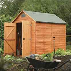 8 x 6 Security Tongue and Groove Shed (12mm Tongue and Groove Floor)