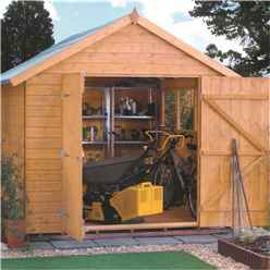 10 x 8 Tongue and Groove Shed (12mm Tongue and Groove Floor)