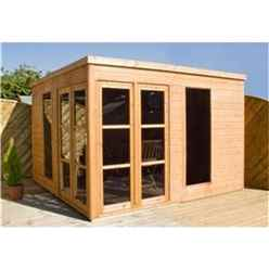 10 x 10 Poolhouse Summerhouse (12mm Tongue and Groove Floor and Roof)