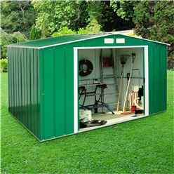 **PRE-ORDER: DUE BACK IN STOCK 21ST AUGUST ** 8 x 10 Select Value Metal Shed (2.61m x 3.02m)