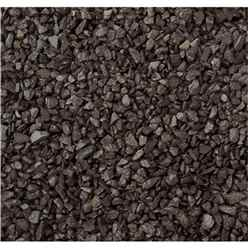 Black Chippings Gravel - Bulk Bag 850 Kg  (*please Note When Dry The Colour Is Dark Charcoal When Wet Naturally Darkens - See Other Images Dry And Wet)