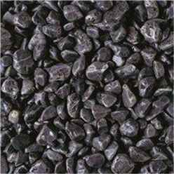 Spanish Black Pebbles Gravel - Bulk Bag 850 Kg
