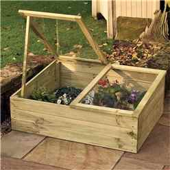 "Timber Coldframe 3'4"" x 2'7"" (1.02m x 0.81m)"