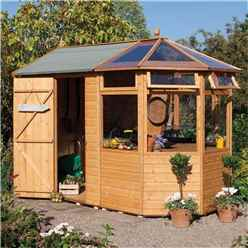10 x 6 Potting Shed (Tongue and Groove Floor)