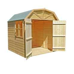 7 X 7 Tongue And Groove Apex Garden Shed / Workshop / Barn (12mm Tongue And Groove Floor)