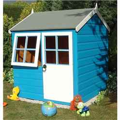 4 x 4 (1.19m x 1.19m) -  Playhouse With Door And Opening Window