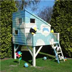 6 x 6 (1.79m x 1.79m) - Command Post Tower Playhouse