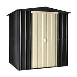 **PRE-ORDER: DUE BACK IN STOCK 30TH OCTOBER** 6 X 5 Premier Easyfix Slate Grey Apex Shed (1.71m X 1.44m)