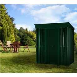 8 X 3 Premier Easyfix Heritage Green Pent Shed (2.46m X 0.92m)