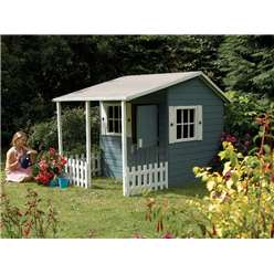 7 x 5 Magnolia Wooden Tongue and Groove Cottage Playhouse
