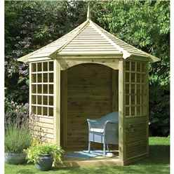 9 X 8 Cecilia Wooden Gazebo - Assembled