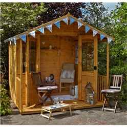 8 X 8 Esme Summerhouse - Assembled