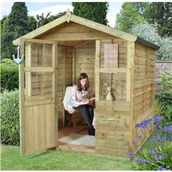 6 x 6 Chantilly Summerhouse - ASSEMBLED