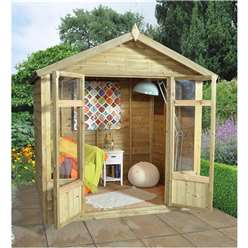 7 X 5 Akina Summerhouse - Assembled