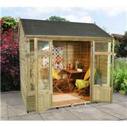 8 X 6 Poppy Summerhouse